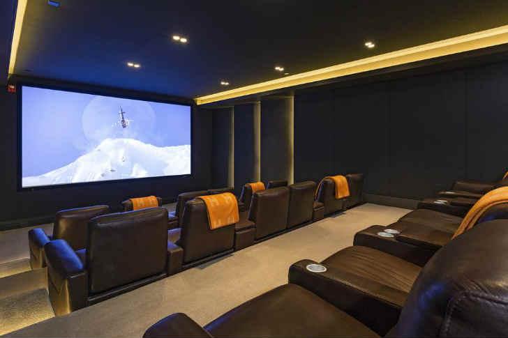ジェイ・zとビヨンセの豪邸 映画室