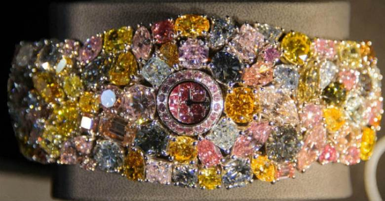 ショパール 201カラット 世界最高額の時計
