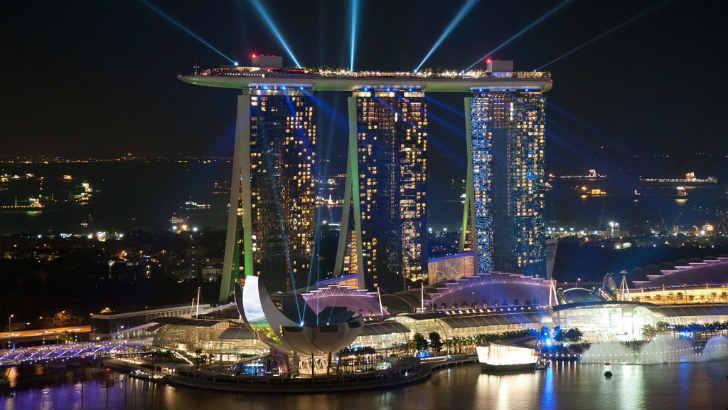 シンガポール マリーナ・ベイ・リゾート
