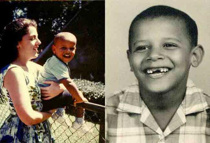 オバマ大統領 少年時代