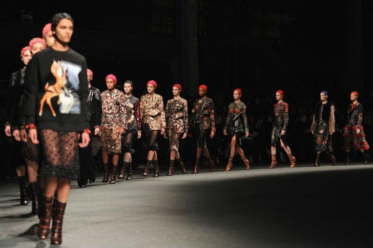 スーパーモデル ファッションショー