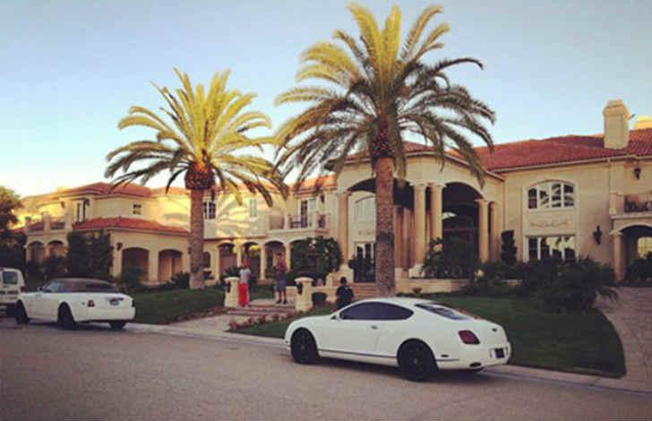 タイガの家はL.Aの8億円豪邸