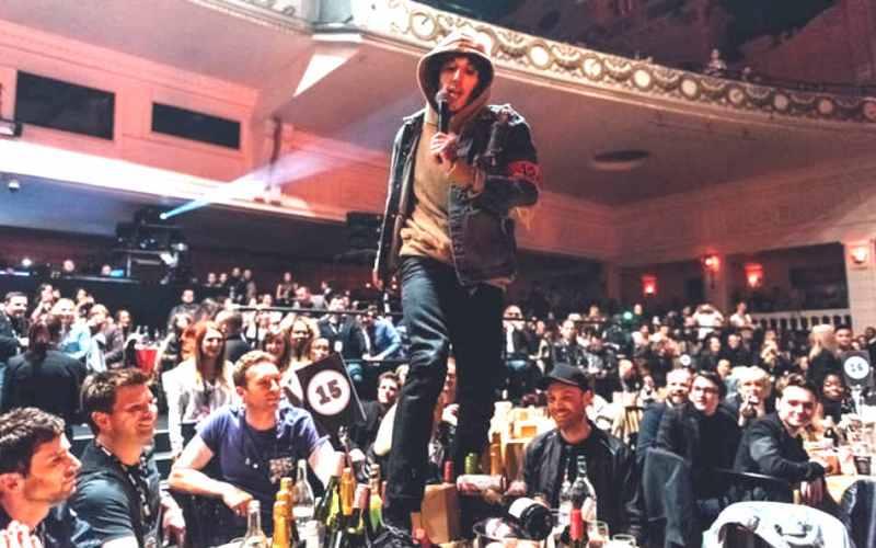 NMEアワード Bring Me The Horizonブリング・ミー・ザ・ホライズン Coldplayコールドプレイ