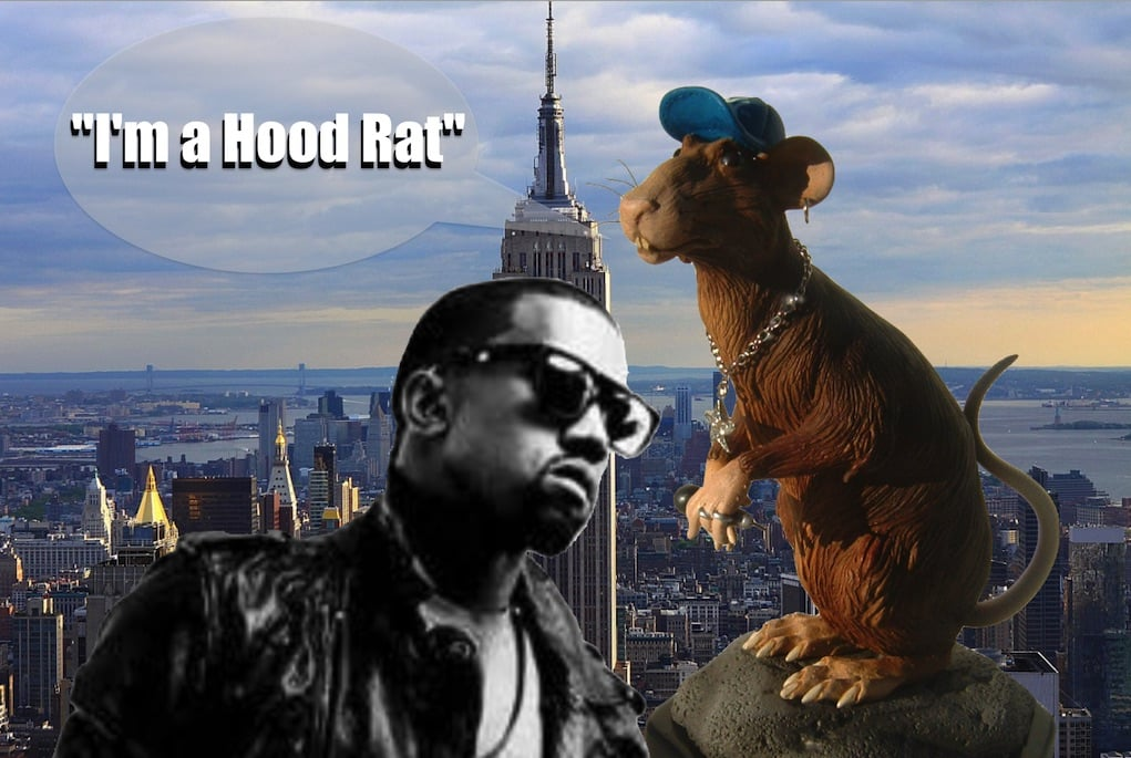 Kanye West Takes Gotham The Ghetto Real Way No Video