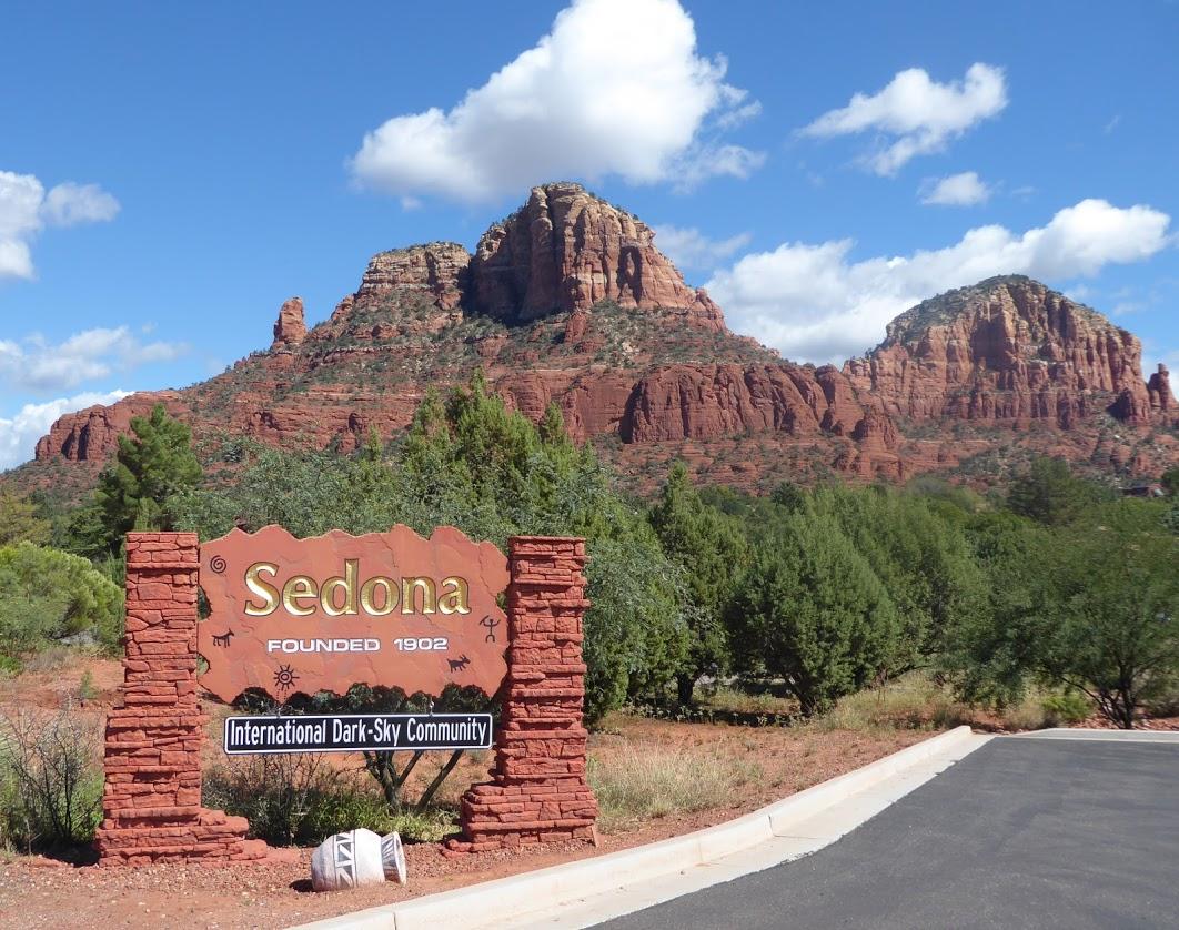 Roy with Yoga Retreat Attendees in Sedona, Arizona