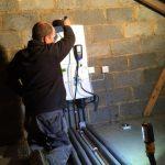 loft boiler installation