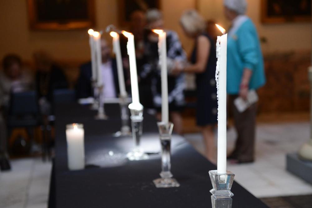 candle lighting ceremony georgia