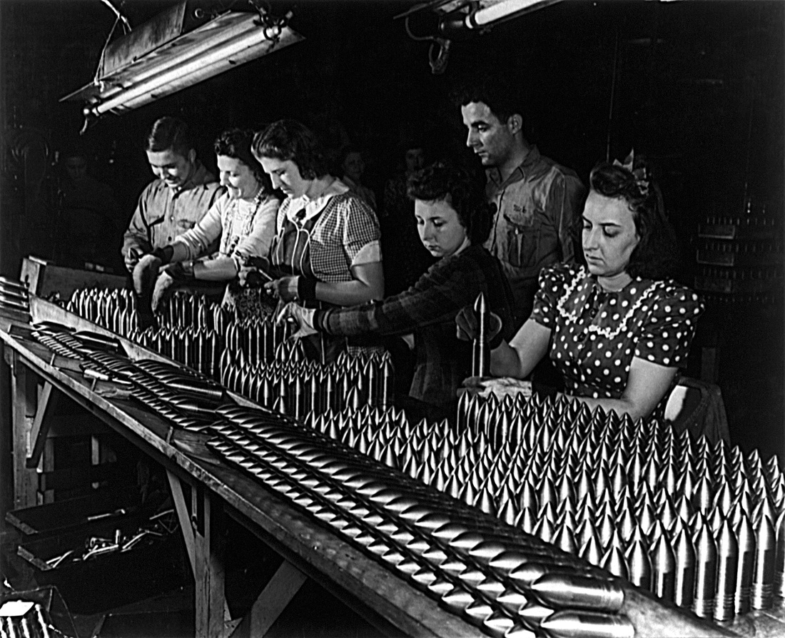 What Role Did American Women Play In Wwii