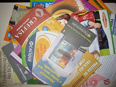 Panfletos de Empréstimo Pessoal