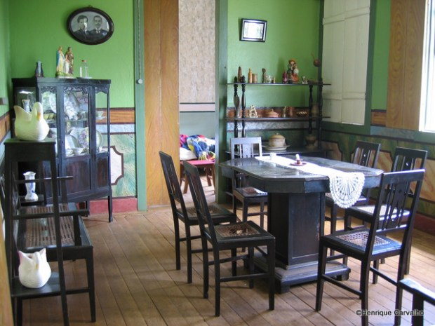 Uma das salas da Fazenda Geraldo da Costa Carvalho