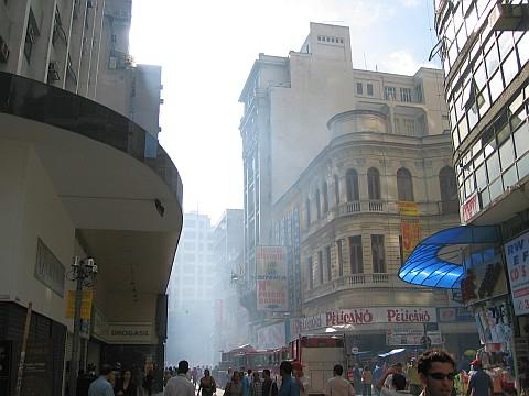 Incêndio na Rua Direita - 13/01/2005