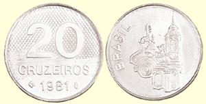 20 Cruzeiros - Ano que nasci, cidade que nasci