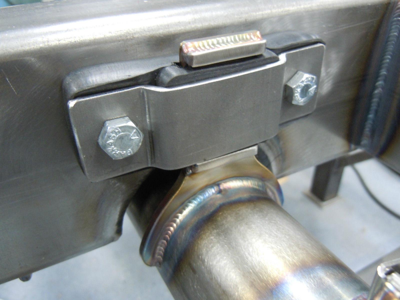 exhaust hangers 2 1 2 diameter stainless steel