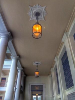 Light Fixtures in Building