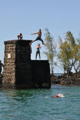 Adrel jumping for joy! Photo Credit: Rogene