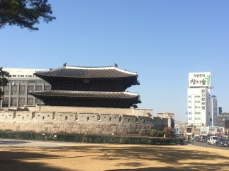 Heunginjimun Gate in Dongdaemun