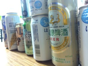 Good beer and good conversation with friends in a local 7-11