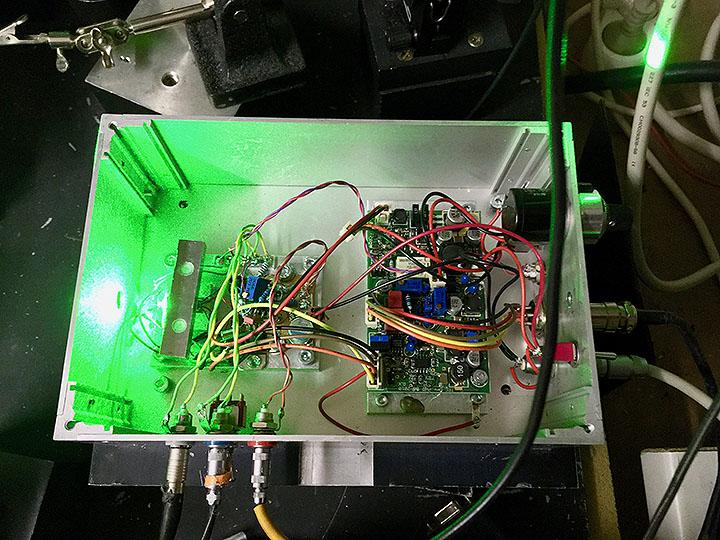 PL530 test setup
