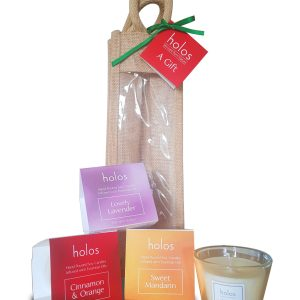 Holos 3 Soy Wax Candles gift set