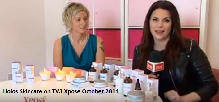 Niamh Hogan for the first time on TV3 Xpose October 2014