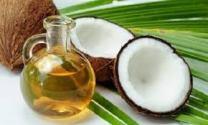 coconut oil used Holos cosmetics