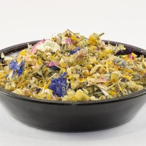 Flower Garden tea, flowers tea, organic tea, Flowering tea, aromatic tea, loose leaf tea, blooming flower, tea gift for her, girlfriend gift