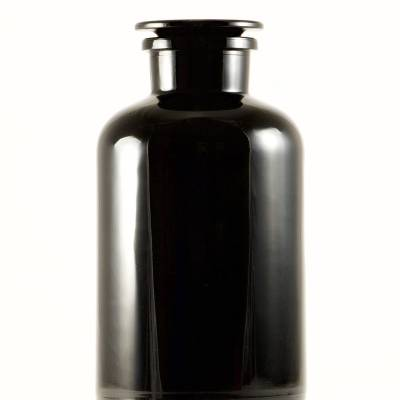 Black jar - Miron Violet Glass Apothecary Jar 2L