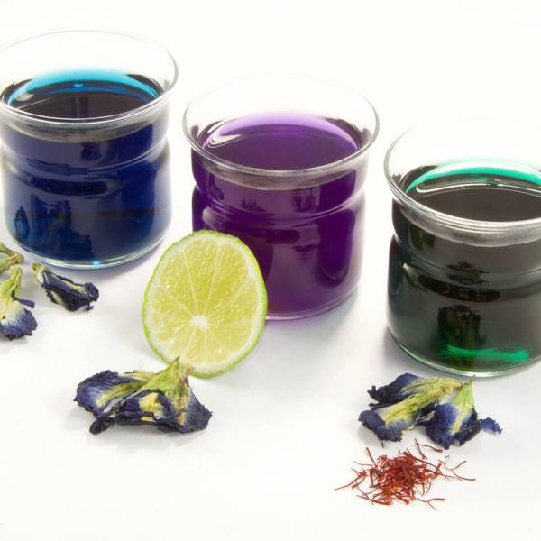 Blue Tea, Organic Butterfly Pea, Natural Cocktail colorant, Clitoria Ternatea, Organic Tea, Thai Herbal Tea, Fair