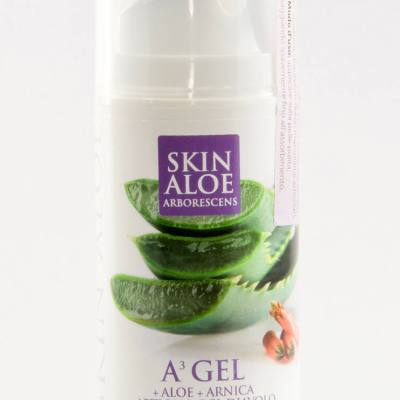 Organic Aloe Arborescens A3 Gel, Anti-inflammatory, analgesic, anti