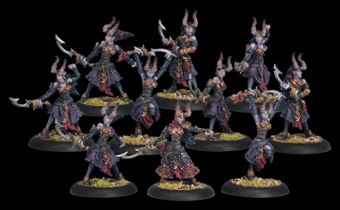 Warmachine Tactics - Cryx: Blood-sploding with Blood Witches!