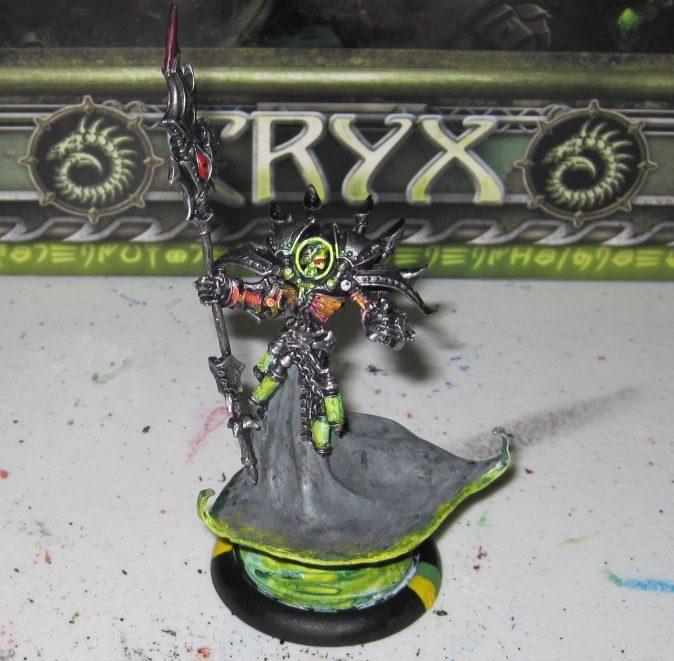Warmachine Tactics – Cryx: Epic Asphyxious