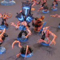 Warhammer 40K: Chaos Daemons Tzeentch Pink Horror Conversions