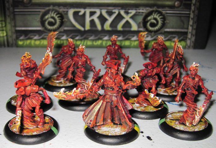 warmachine cryx blackbane's ghost raiders