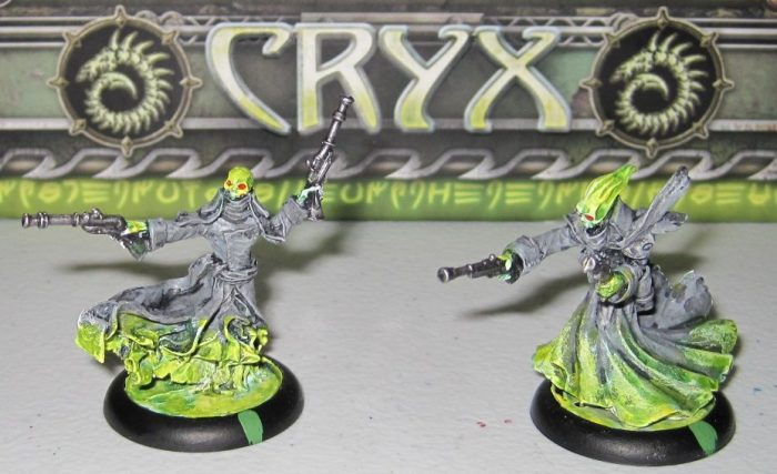 warmachine cryx pistol wraiths