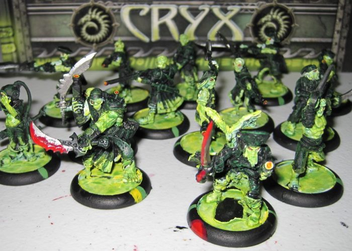 warmachine cryx revenant crew