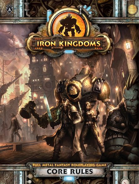 iron kingdoms core rules cover