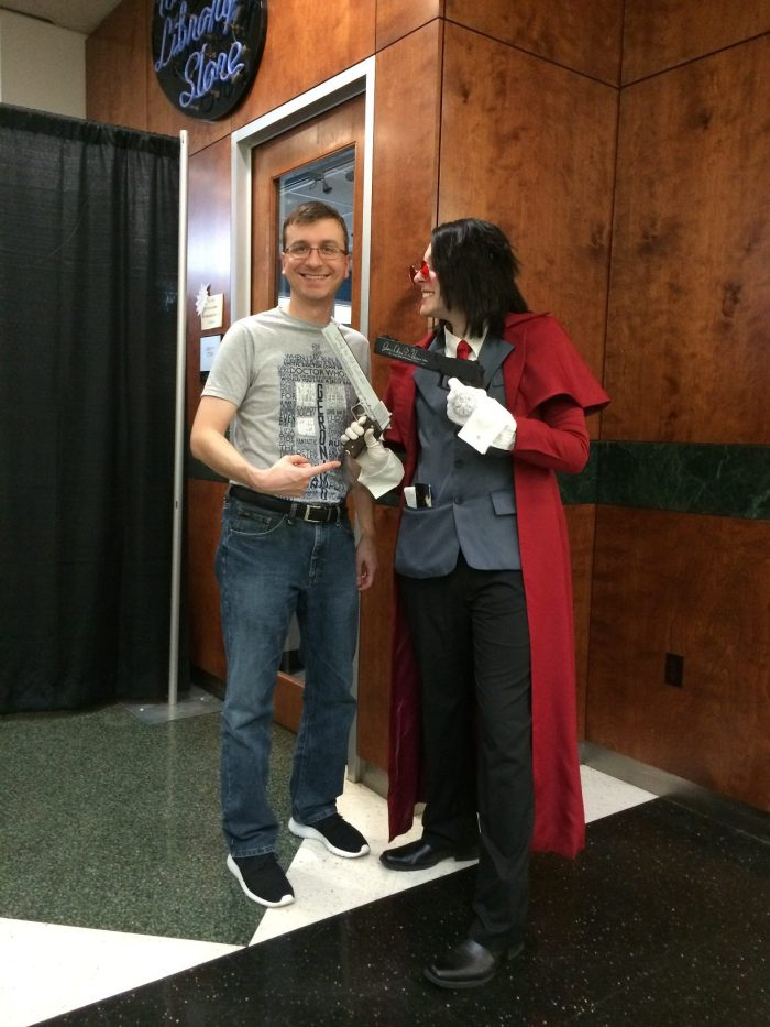 SpartanCon Alucard Cosplay