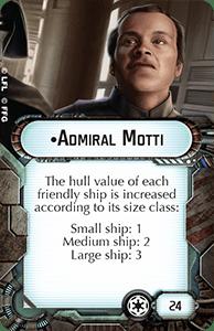 Star Wars Armada Admiral-motti