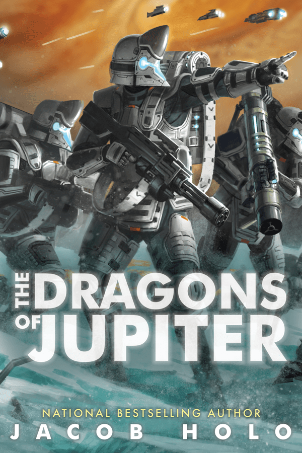 The Dragons of Jupiter cover