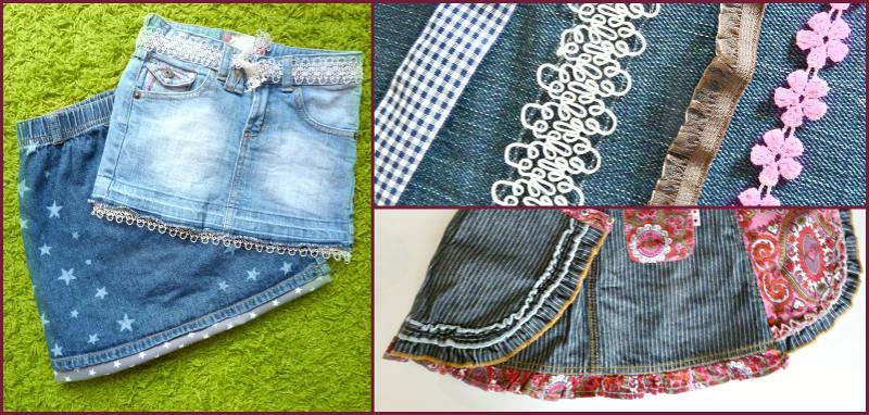 DIY Röcke und Shorts aufpeppen holozaen.de