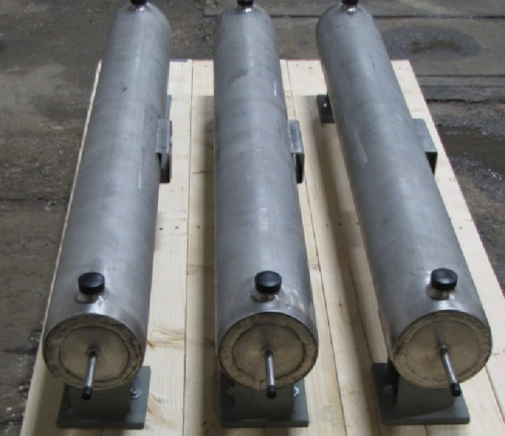 Three (3) Sampling Heat Exchangers with Helical Coil for a PWR in Slovenia