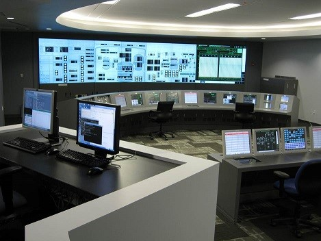 MEPPI's Simulation Plant Control Room with State-of-the-Art Human-System Interface Technology