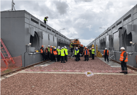 Chernobyl's dry storage facility completed by Holtec is now ready to be commissioned to process and load used fuel from its three shuttered reactors