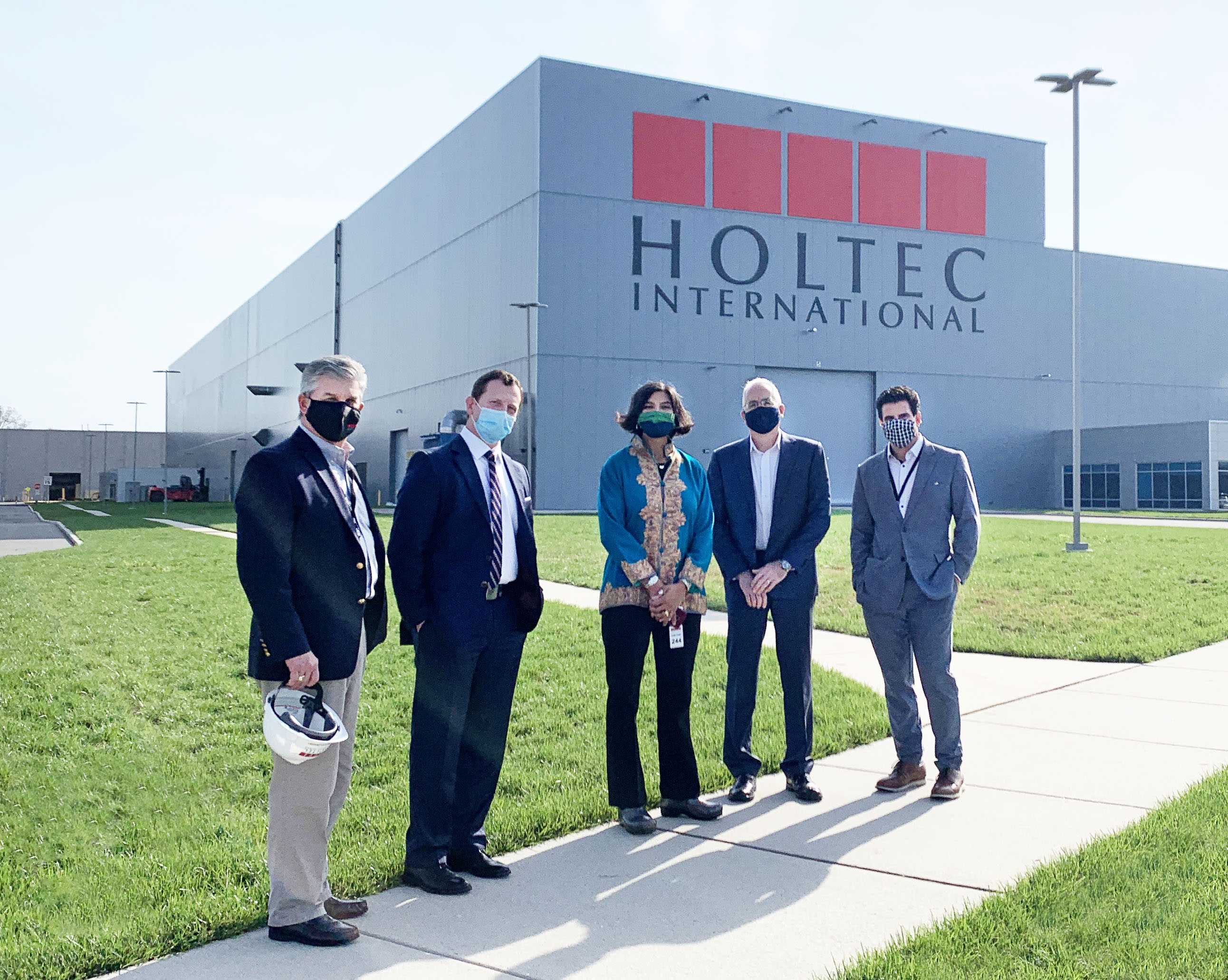 Holtec Hosts DOE Assistant Secretary at Its Technology Headquarters in Camden, New Jersey