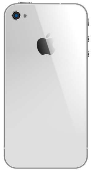iPhone 4s, Back