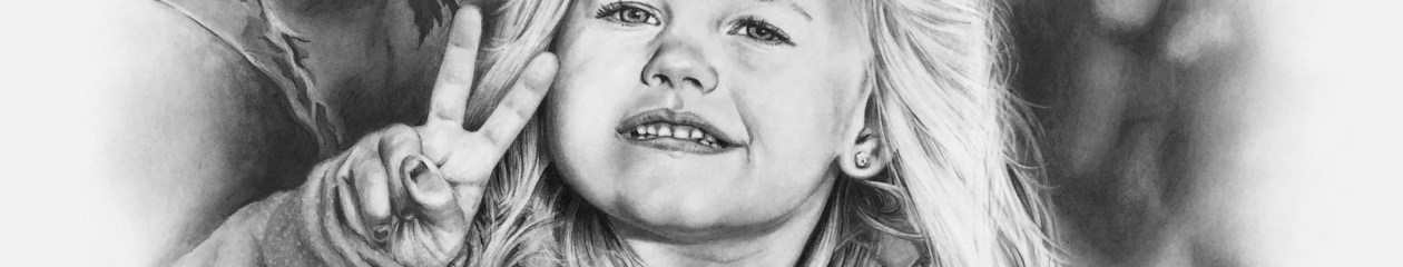"""Nevada"" pencil portrait"