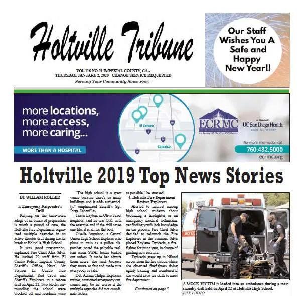 Holtville Tribune e-Edition 01-02-2020