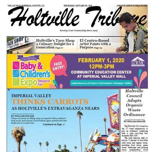 Holtville Tribune e-Edition 1-30-20