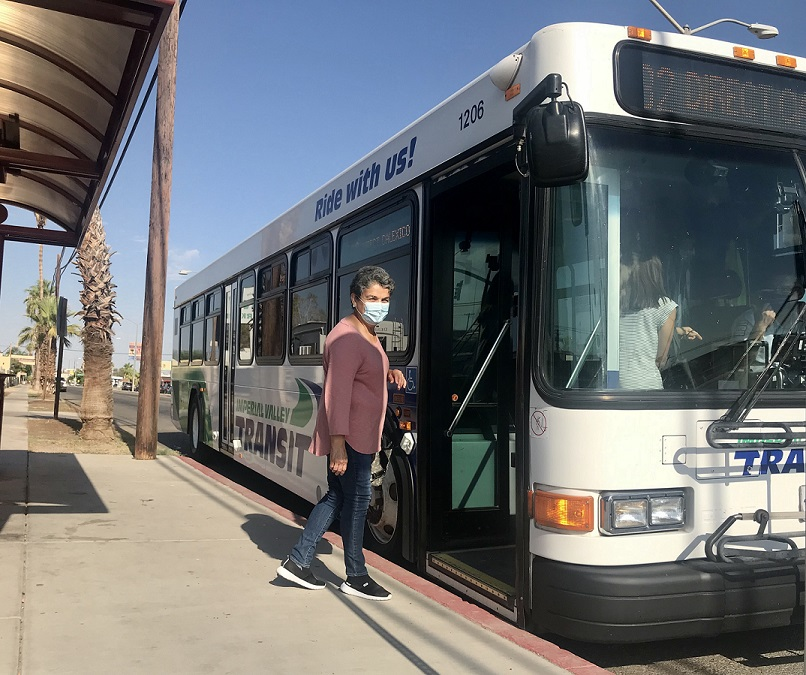 IV Transit Riders Enjoy Free Fares Program