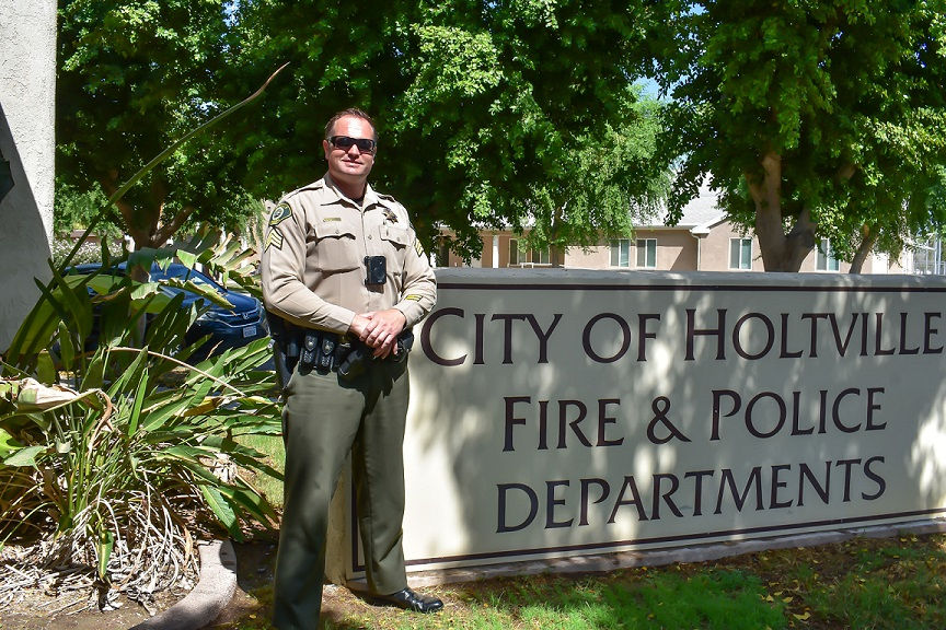 Getting to Know Holtville's 'Police Chief